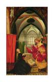 The Isenheim Altarpiece  Left Wing: Annunciation