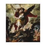 Saint Michael Vanquishing Satan