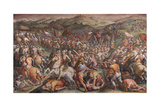 The Battle of Marciano in Val Di Chiana  1570-1571