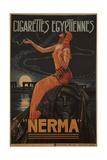 Egyptian Cigarettes Nerma  1924