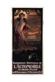 Exposition Décennale De L'Automobile Au Grand Palais  1907