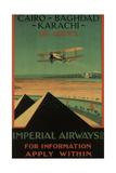 Imperial Airways, 1926 Giclée par Charles C. Dickson