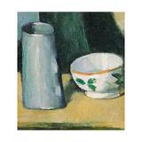 Bowl and Milk-Jug Giclée par Paul Cézanne