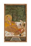 Ali Adil Shah II of Bijapur with a Woman