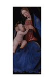 Triptych  Central Panel: Enthroned Maria Lactans  1500