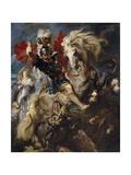 Saint George and the Dragon  1606-1608