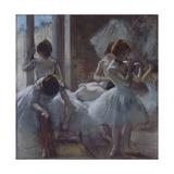 Dancers (Danseuse), 1884-1885 Giclée par Edgar Degas