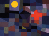 Fire at Full Moon Giclée par Paul Klee