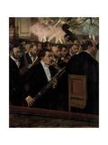 The Orchestra at the Opera, C. 1870 Giclée par Edgar Degas