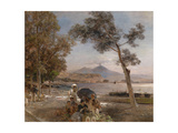Evening Mood at the Bay of Naples  1888