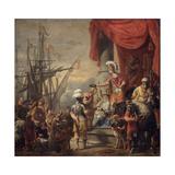 Aeneas at the Court of Latinus