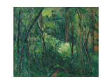 Interior of a Forest, Ca 1885 Giclée par Paul Cézanne