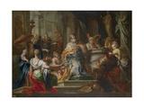 The Idolatry of King Solomon Giclée par Sebastiano Conca