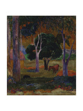 Hiva Oa (Landscape with a Pig and a Hors)