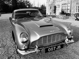 James Bond's Aston Martin DB5  Used in the Film Goldfinger