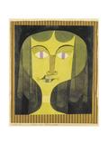 Portrait of a Violet-Eyed Woman Giclée par Paul Klee