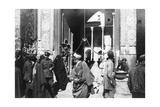Entrance to Kazimain Mosque  Iraq  1917-1919