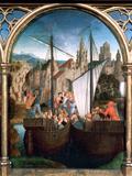 St Ursula Shrine  Arrival in Basle  1489
