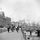 The Bund  Shanghai  China  Early 20th Century
