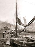 Canal Boat  Rotterdam  1898