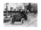 Mercedes 35 Hp Motor Car  1901
