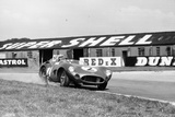 Carroll Shelby Driving Aston Martin Dbr1  Tt Race  Goodwood  Sussex  1959