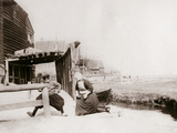 Children Playing  Marken Island  Netherlands  1898