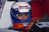 Alain Prost  British Grand Prix  Silverstone  Northamptonshire  1989