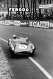 Aston Martin DBR1 in Action  Le Mans 24 Hours  France  1959