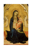 The Virgin and Child with Angels (Madonna of Humilit)  C1408-C1410