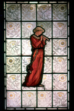 Stained Glass  Minstrel  1882-1884