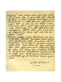 Letter from Michelangelo Buonarroti to His Father  June 1508
