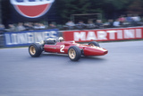 Ludovico Scarfiotti Driving a Ferrari  Belgian Gp  Spa-Francorchamps  1967
