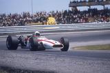 John Surtees Driving a Honda  Spanish Grand Prix  Jarama  1968