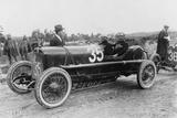 Antonio Ascari in an Alfa Romeo  Targa Florio Race  Sicily  1922