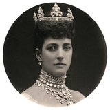 Queen Alexandra (1844-192)  Queen Consort to King Edward Vii  Late 19th Century