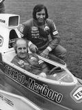 Denny Hulme and Emerson Fittipaldi  1974