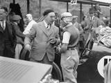Tazio Nuvolari at the Ulster TT Race  1933