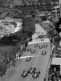 Start of the Monaco Grand Prix  1964