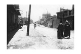 New Street  Baghdad  Mesopotamia  Wwi  1918