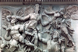 Detail from the Great Frieze of the Pergamon Altar  180-159 BC