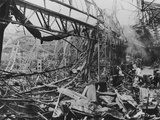 The Destruction of Renault's Billancourt Factory  Paris  France  WWII  C1939-C1945