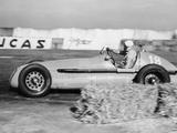 Luigi Villoresi Winning the British Grand Prix  Silverstone  October 1948