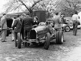 Bugatti Type 35B at Prescott  Gloucestershire  1954