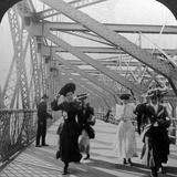 The Promenade  Williamsburg Bridge  New York  USA  C1900s