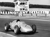 Dan Gurney Driving a Porsche  French Grand Prix  Rheims  1961