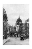 St Paul's Cathedral from Fleet Street on a Sunday  London  C1930S