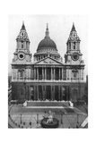 St Paul's Cathedral  London  1926