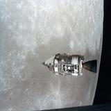 The Apollo 15 Command and Service Modules in Lunar Orbit  1971