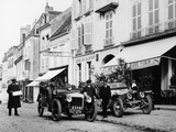1909 Daimler and 1908 Rolls-Royce Silver Rogue  France  October 1908
